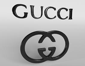 3D asset Gucci Logo 03