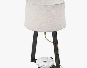 Table lamp OKHA Heavy weight 3D