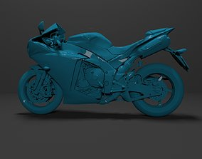 3D Model Yamaha YZF-R1 1000 Ready for Print motorcycle