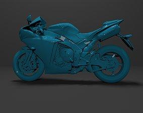 yzf 3D Model Yamaha YZF-R1 1000 Ready for Print