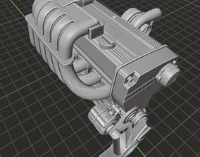 Nissan RB20 DET 3D asset