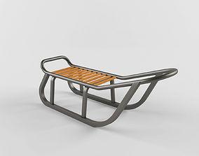3D model Iron sledge