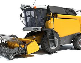 Combine Harvester farm 3D