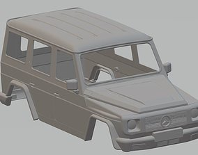 Mercedes Benz G Printable Body Car