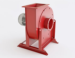 Industrial exhaust snail MH 500 3D model