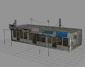 Arab City Building - Building C 3D asset