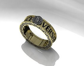 3D printable model Versace Ring New