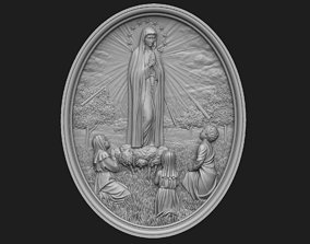 3D print model Our Lady of Fatima Medallion