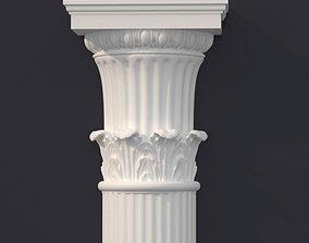 ancient decoration 3D model column