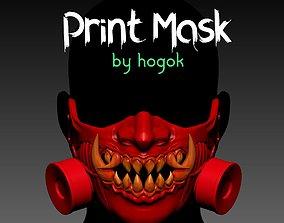 Mask printable helmet scifi cosplay Helmet 3D print model