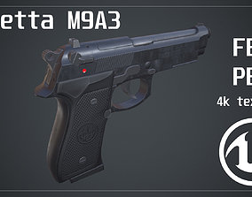 3D model Beretta M9A3 Pistol