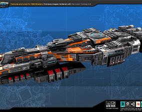 SF REBEL Dreadnought RF2 3D asset