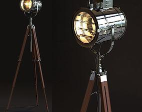 Thor Vintage Stage Searchlight 3D