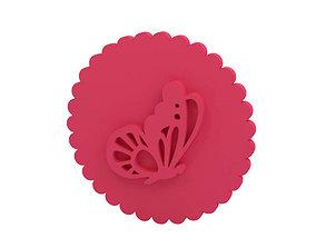 Cookie stamp - Stamp 3D print model cookie
