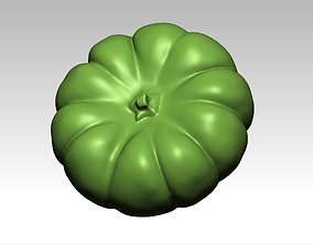 Download STL format of pumpkin 3D drawing stl