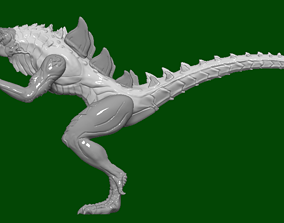 Godzilla Animated sires action figure 3D model