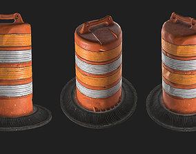 3D model Construction Barrel