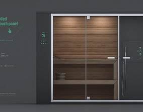 Smart Sauna lifestyle 3D