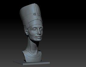 Nefertiti Portrait 3D print model