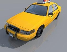 speed NY taxi 3D