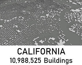 California - 10988525 3D Buildings realtime