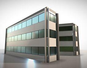 3D model City Building Design A-1