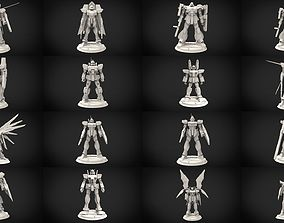 3D model Gundam Minature Collection