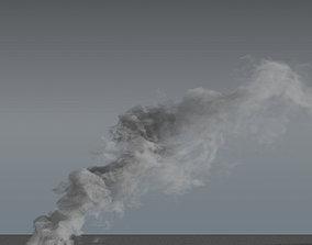3D Smoke Rising 04 - VDB