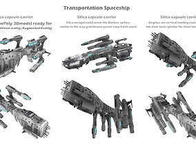 3D model Transportation Spaceship