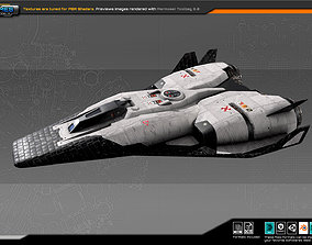 SF Colony Shuttle CF2 3D model