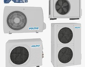 Air Conditioner Optimized 3D model
