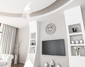 Interior Room Tv Unite Desing3 3D