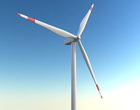 animated Windmill 3d model - 3ds max vray scene