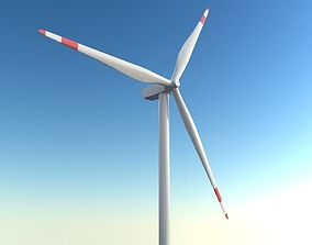 animated Windmill 3d model - 3ds max vray scene
