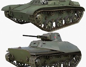3D Tank Collection Vray 004