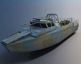 Navy Multi Purpose Assult Craft Mpac 3D model