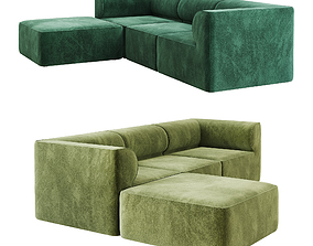 3D Eave Modular Sofa option 02 family