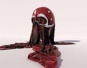 3D print model Blood skull