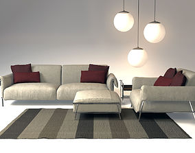 3D model sofa and chair chat design Carlo Colombo