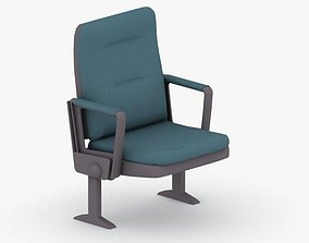 3D model 0885 - Theater Seating