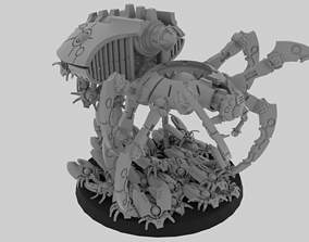 3D printable model Mechanized Spider and Scarabs