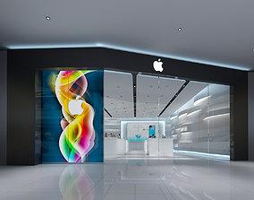 Apple Store Design 3D