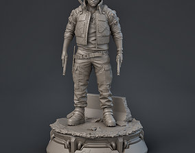 Jackie Welles 3D print model