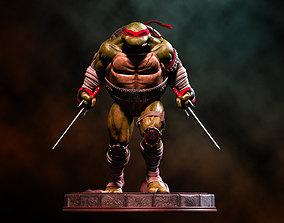 comic Fanart TMNT Raphael Statue 3D printable model