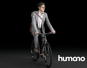 3D model Humano Biking Man 0718