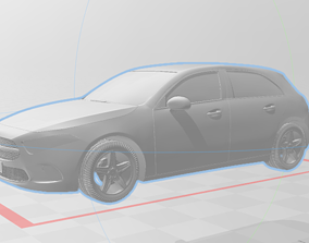 Mercedes Benz A-Class 2018 3D print model