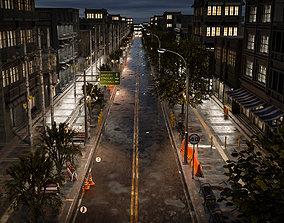 3D model STREET PROPERTY ELEMENT ASSET