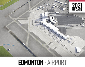 3D model Edmonton Airport