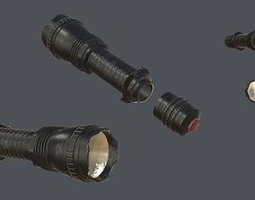 3D asset Realistic Flashlight