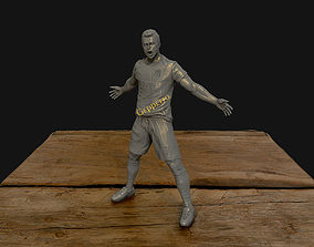 3D printable model Christiano Ronaldo celebration 2